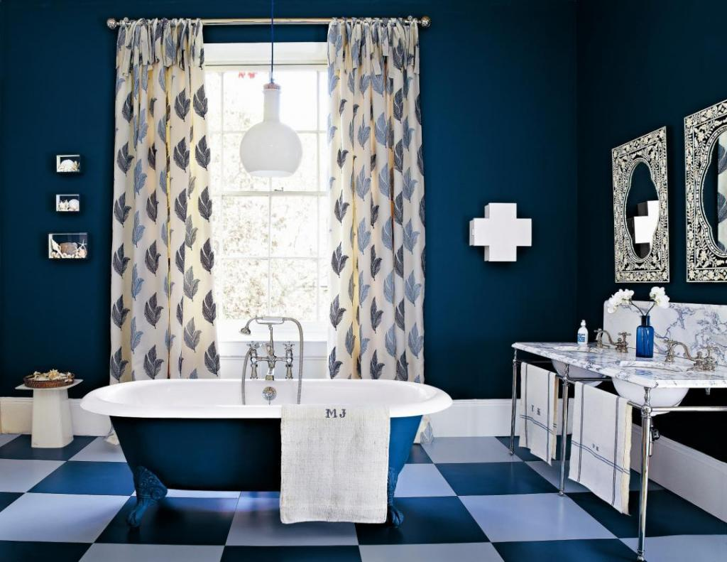 Dark blue bathroom designs -  Blue Bathroom Ideas Blue Bathrooms Ideas