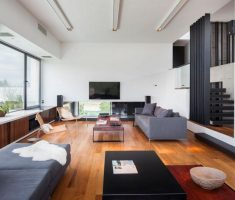 Clean and Lux Living Room Dream House Design