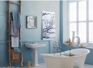 unique Blue Bathroom Ideas