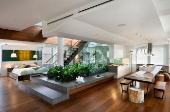 amazing-apartment-decorating-ideas-2016-with-bedroom-and-diningroom-in-one-place