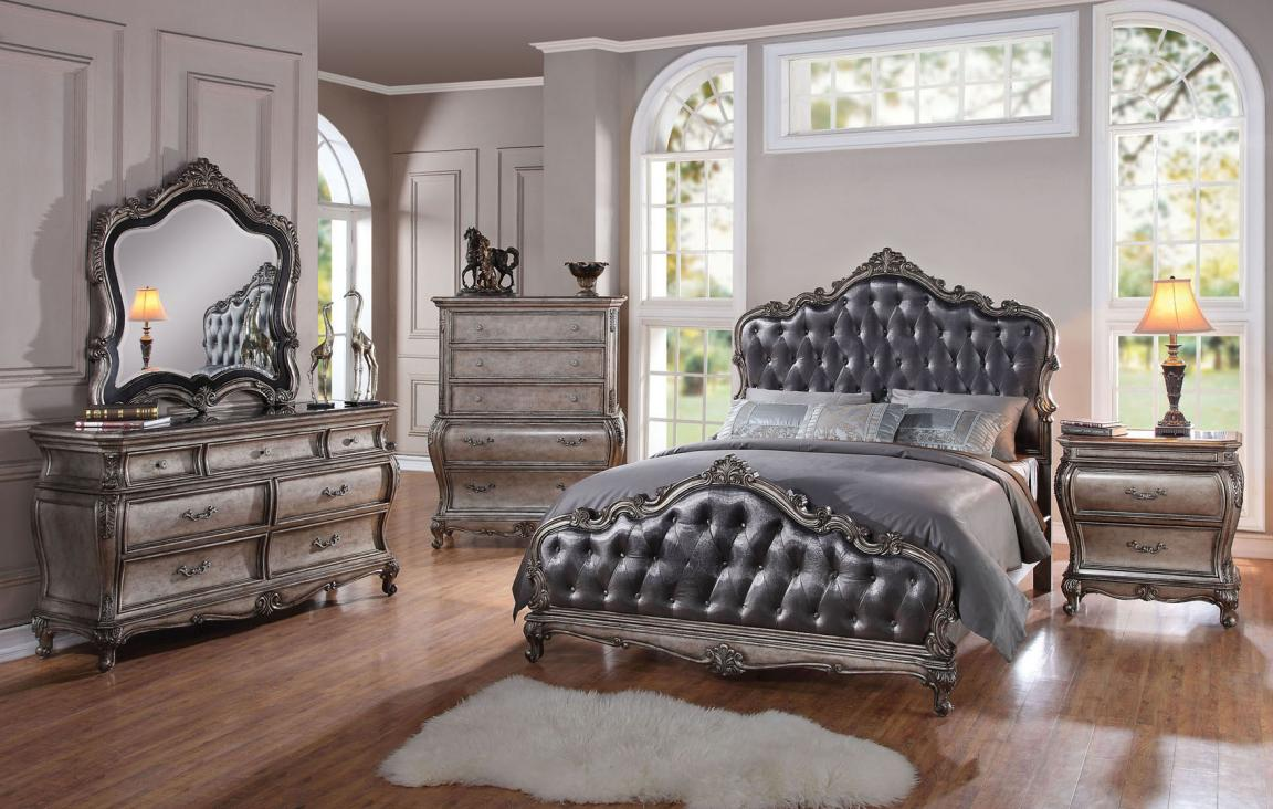 amazing-silver-queen-bedroom-sets-for-royal-master-room