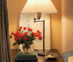 amusing bedroom table lamps with natural rose