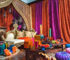 awesome moroccan decoration colkours interior