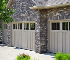 beauty lowes garage doors with brick wall home