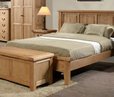 best wooden bed frames original wood oak