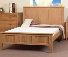 big wooden bed frames design