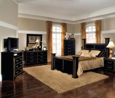 blanc and gold queen bedroom sets with black drawers cabinet set