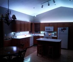 classical kitchen lighting ideas under cabinets