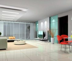 clean minimalist modern interior design