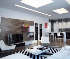 contemporary modern living room design