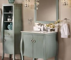 Contemporary Small Storage Bathroom Ideas