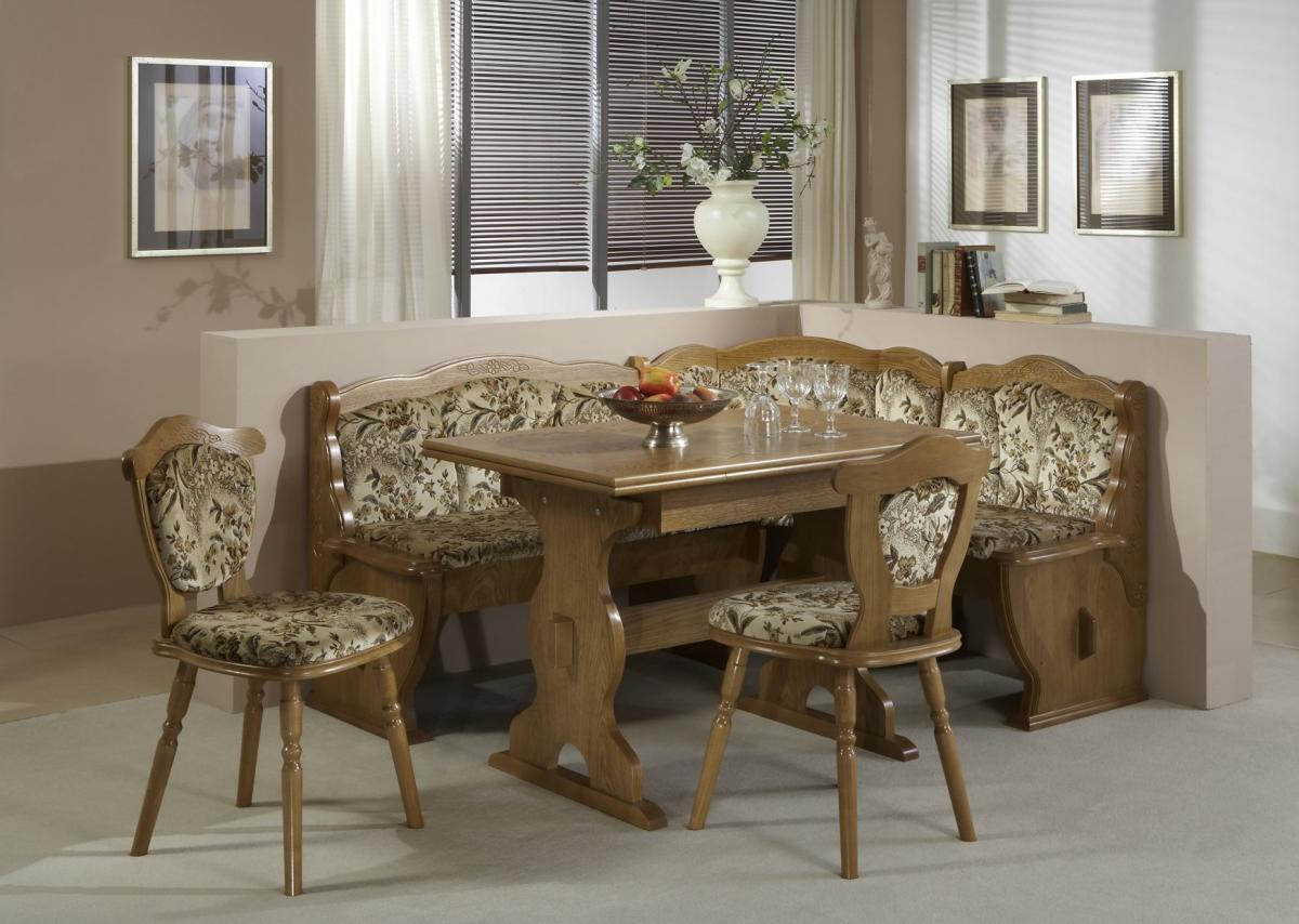 Corner kitchen table country style home inspiring for Country style kitchen table