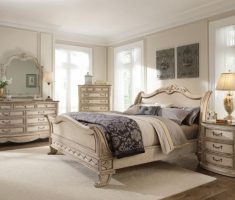 country style queen bedroom sets with ivory schemed