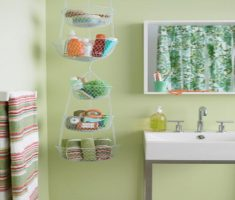 Creative Noose Storage for Maximize Your Small Storage Bathroom