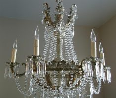 crystal shabby chic chandeliers