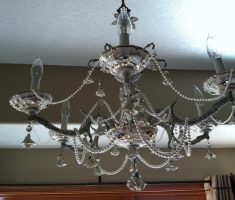 crystal shabby chic chandeliers design