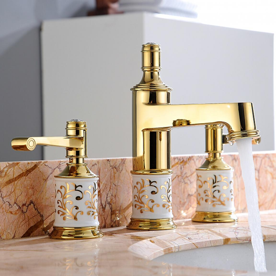elegant-gold-vessel-sink-faucets-design