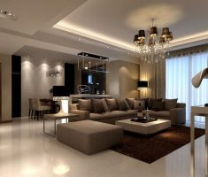 elegant modern living room design