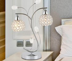 enchanting bedroom table lamps with unique design