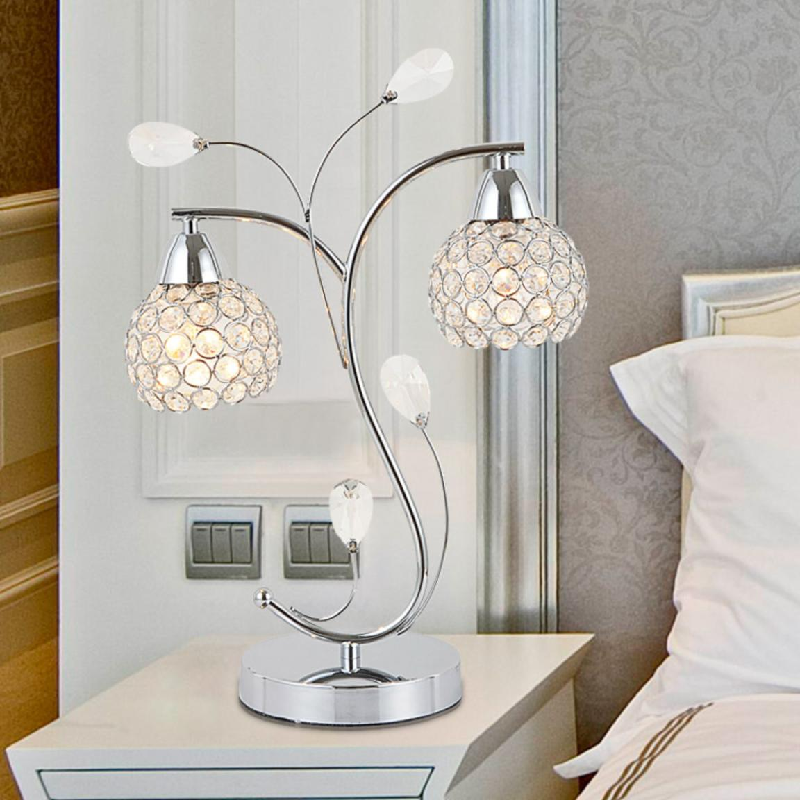 Enchanting-bedroom-table-lamps-with-unique-design