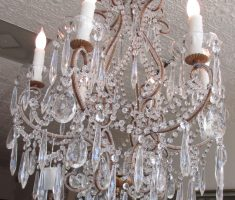 enchanting crystal shabby chic chandeliers