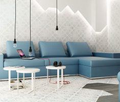 enchanting simply blue living room sofa furniture for small living room