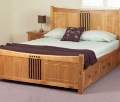 enchanting wooden bed frames with storages