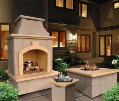 fancy outdoor propane fireplaces for best exterior