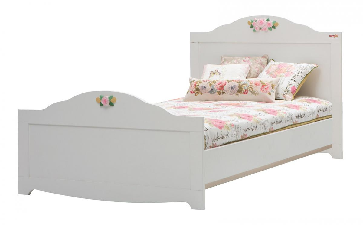 Feminim Small Double Bed For Small Bedroom Woman Girl