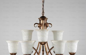 golden-and-white-shabby-chic-chandeliers
