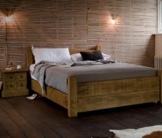 handmade wooden bed frames double
