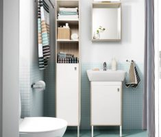 Ikea Cabinet Small Storage Bathroom