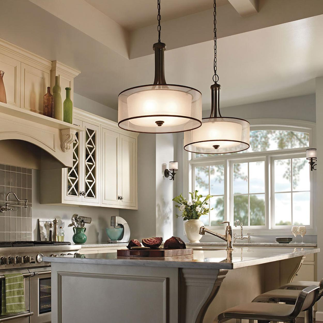 enchanting lighting kitchen design ideas for Small kitchen