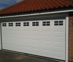 lowes garage doors with seven windows