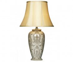 lux ceramic bedroom table lamps design