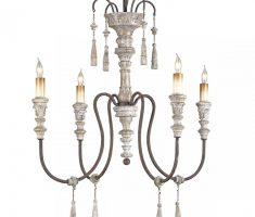 lux chrome shabby chic chandeliers