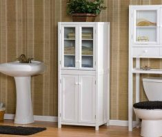 Mini Cabinet Bathroom Storage