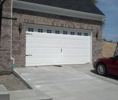 mini lowes garage doors for car