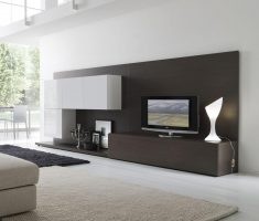 minimalist modern interior design with decoration