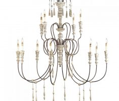 minimalist shabby chic chandeliers with metal material