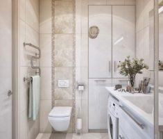 modern bathroom for small space