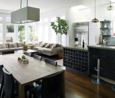 modern kitchen lighting with living room ideas