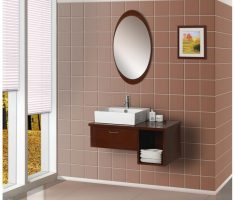 modern oval bathroom mirrors decor