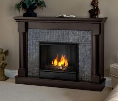 modern propane fireplaces with cabinet