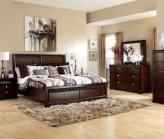 modern rustic queen bedroom sets with wooden furniture with storage