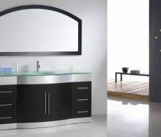 modern vanity mirrors for bathroom with unique mirror