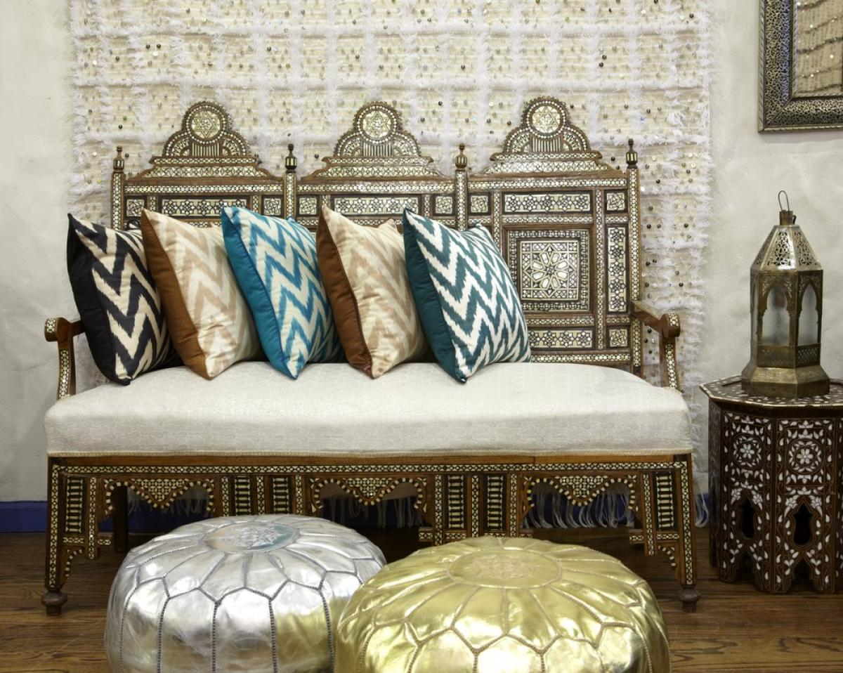 Moroccan sofa and chair furniture decoration home inspiring for Moroccan style home accessories