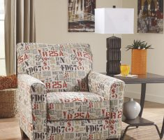 numbering character accent chairs for living room