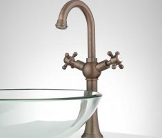 oil rubbed bronze vessel sink faucets design