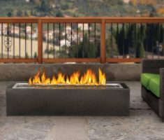 outdoor propane fireplaces for rest area